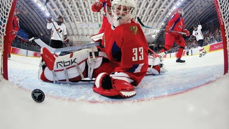 на фото ставка хоккей